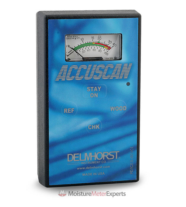 Delmhorst Accuscan 6% to 40% Pinless Analog Wood Moisture Meter Review