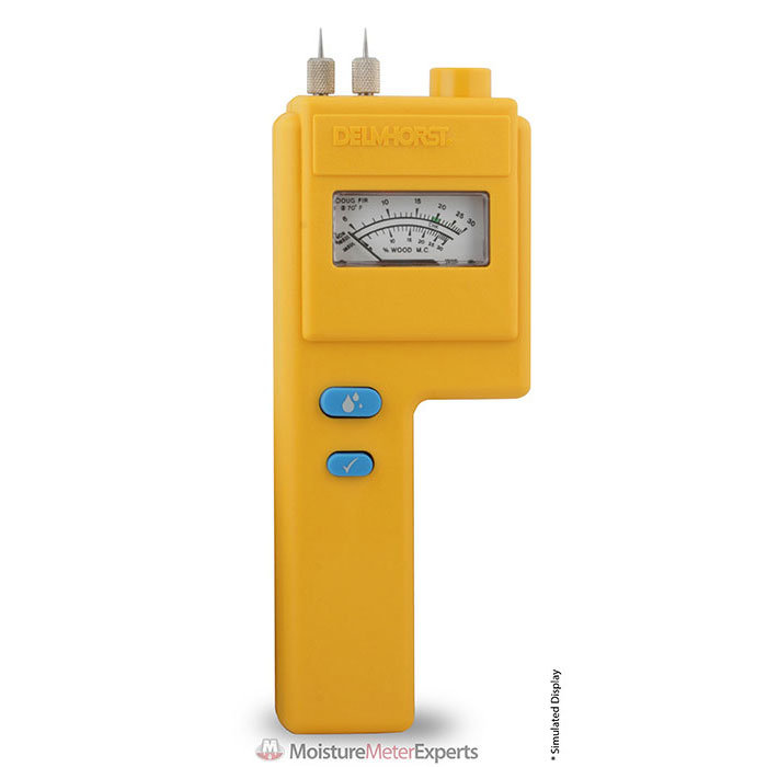 Delmhorst J-4 Pin Analog Wood Moisture Meter