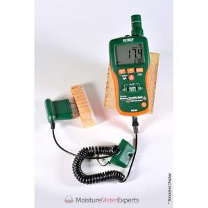 Extech MO290 Moisture Meter with Push Probe Cable Review