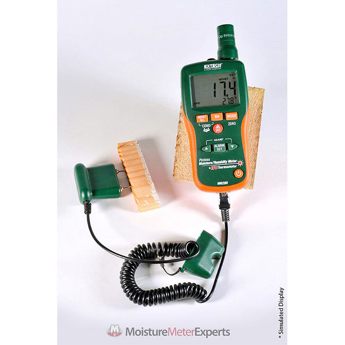 Extech M0290 Moisture Meter with Push Cable