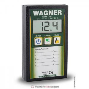 Wagner Meters MMI1100 5% to 32% Pinless Datalogger Wood Moisture Meter Review