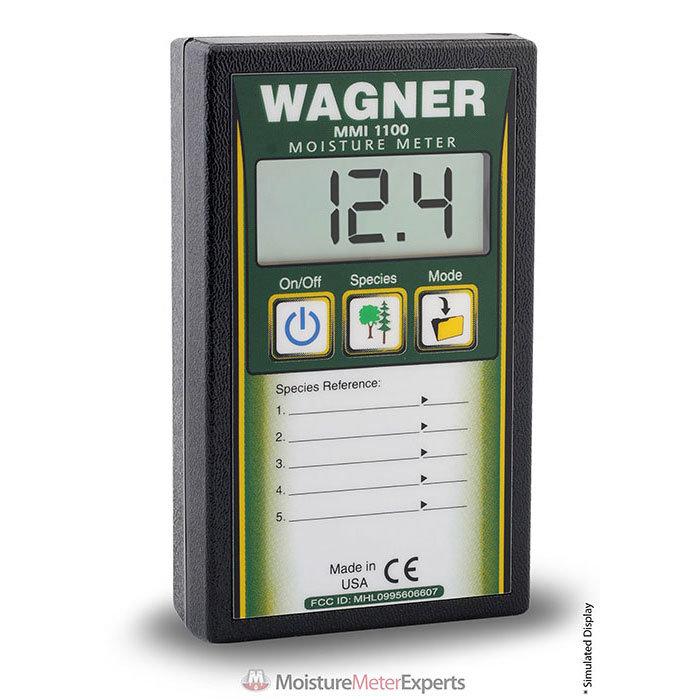 Wagner Meters MMI1100 Pinless Datalogger Wood Moisture Meter
