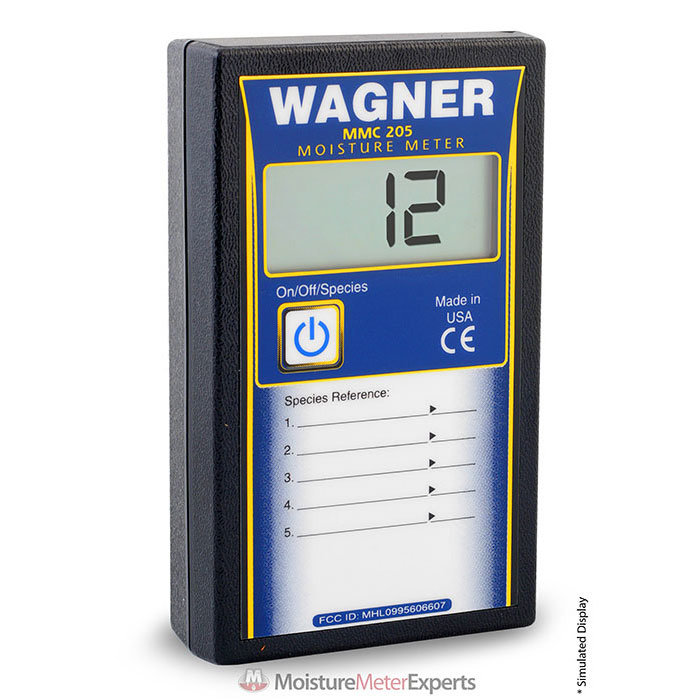 Wagner Meters MMC205 Shopline Pinless Digital Wood Moisture Meter