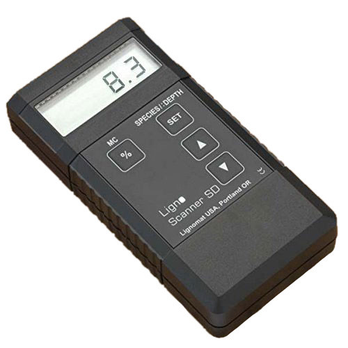 Picture of the Lignomat Scanner S/D Pinless Wood Moisture Meter