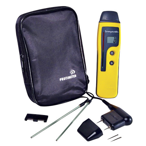 Surveymaster meter kit with meter, pouch and accessories
