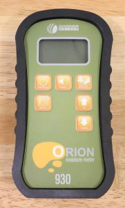 orion 930 wood moisture meter