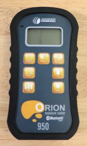 orion 950 wood moisture meter