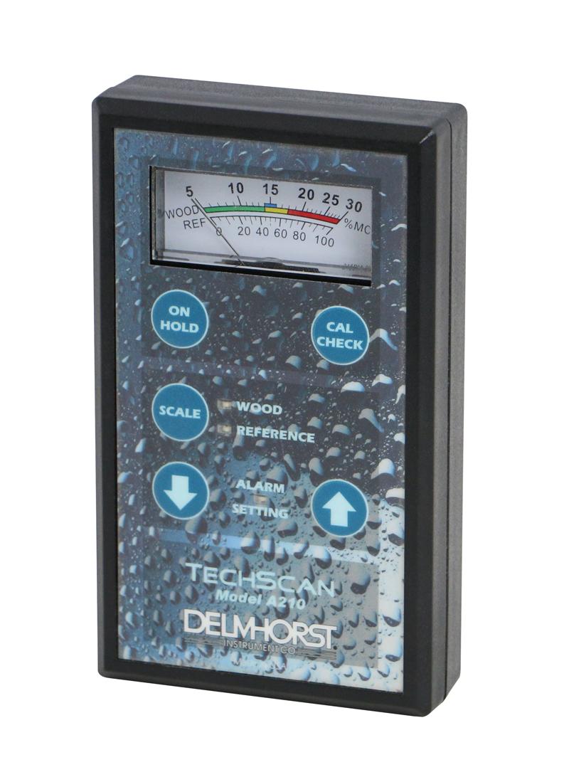 Delmhorst TechScan A210 Moisture Meter Review